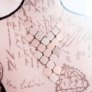 Jewelry - Rose Gold Tone Statement Necklace